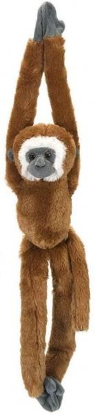Wild Republic 15259 - Hanging Monkey Gibbon Plüsch-Affe, 51 cm