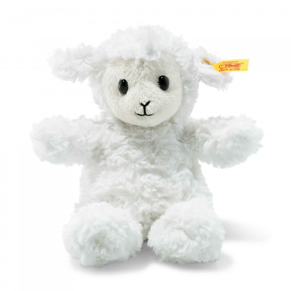 Steff 073403 Soft Cuddly Friends Fuzzy Lamm 18cm