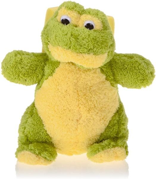 Inware 6264 - Kinder Rucksack Frosch, grün/gelb Plüsch-Rucksack