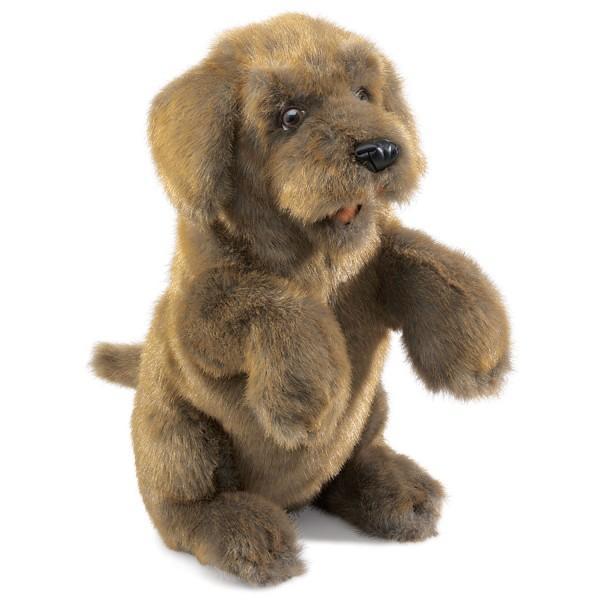 Folkmanis Puppets 2006 - Sitzender Hund / Sitting Dog