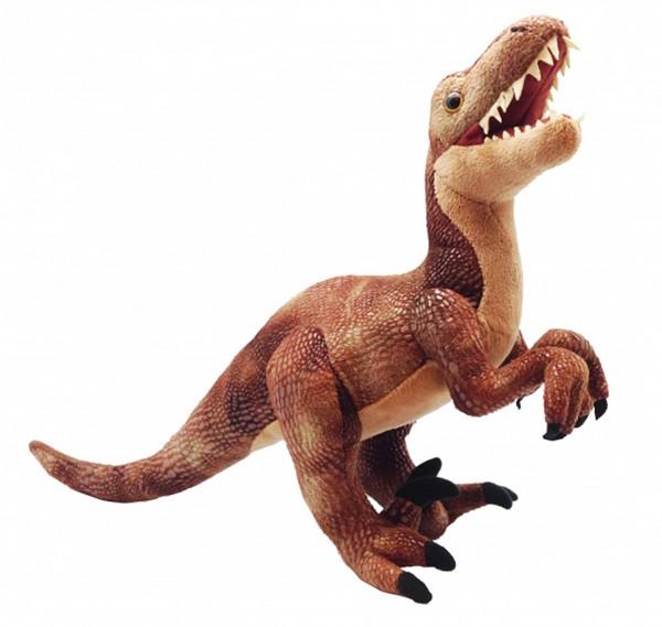 Velociraptor 17953AP Dinosaurier ca. 38cm by Wild Republic Plüschtier Stofftier Dino Dinosauria